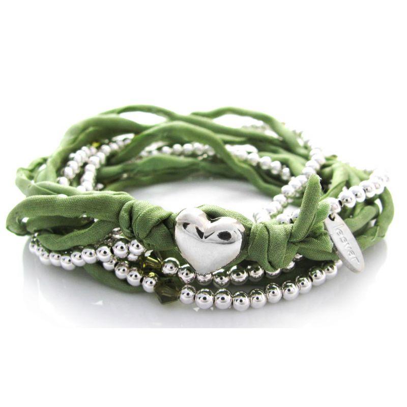 Lesvar Armband grün