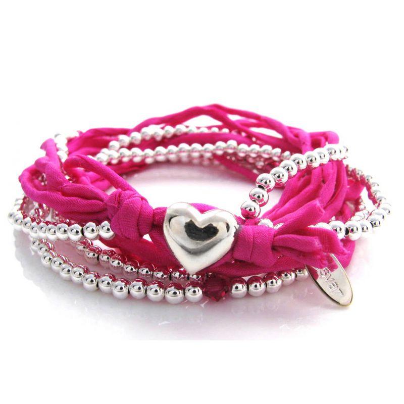Armband Herz pink