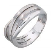 Ring 925 Sterling Silber1 Diamant-Brillant w52