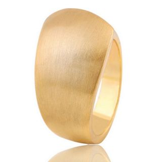 damen ring modisch 18 k plated