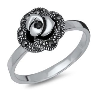 Ring 925 Sterling Silber Rose
