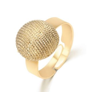 ring verstellbar gold