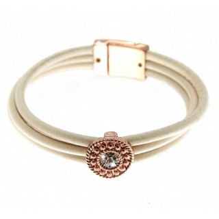 Sweet Deluxe Damen Armband Odessa rosegold creme